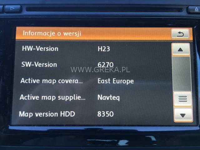 Najnowsza mapa Europy V13 RNS 510